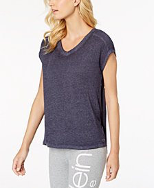 Calvin Klein Performance Gathered-Back Top