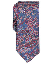 Tallia Men's Kimble Paisley Slim Tie