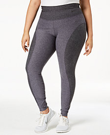 Nike Plus Size Colorblocked High-Waist Leggings