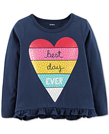 Carter's Baby Girl Best Day Graphic Cotton Shirt