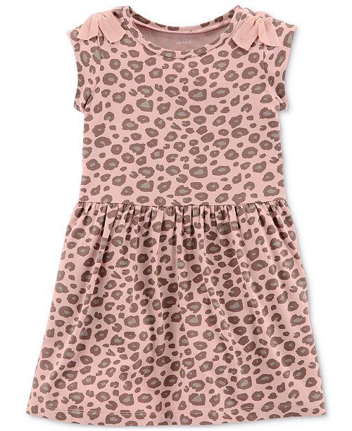 Carter s Toddler Girls Leopard-Print Dress - Dresses - Kids - Macy s dfa86cc7d