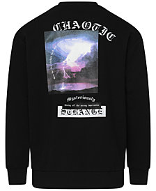 Corella Men's Chaotic Lightning Sweatshirt, Created for Macy's
