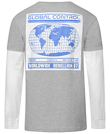 Corella Men's Global Control Layered Long-Sleeve T-Shirt