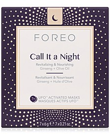 Call It A Night UFO Activated Masks, 7-Pk.