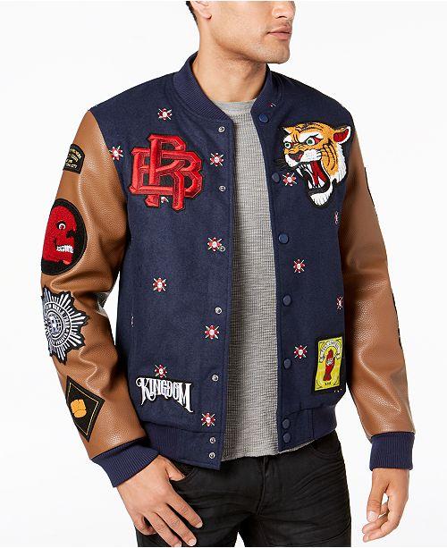 Reason Kingdom Varsity Jacket & Reviews - Men - Macy's