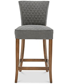 Iferton Quilted Counter Stool