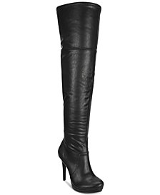 Thalia Sodi Beckie Wide-Calf Over the Knee Boots, Created For Macy's