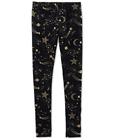 Carter's Little & Big Girls Stars-Print Leggings