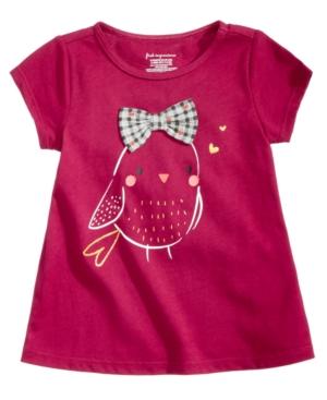 First Impressions Baby Girls BirdPrint Cotton TShirt Created for Macys