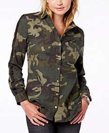 Polly & Esther Juniors' Cotton Camo Shirt