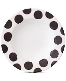 Darbie Angell Black Pearl Salad Plate