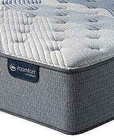 "iComfort by Serta Blue Fusion 1000 14.5""  Hybrid Luxury Firm Mattress Set - King with Adjustable Base"