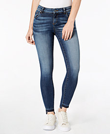 Kut from the Kloth Connie Step-Hem Skinny Jeans