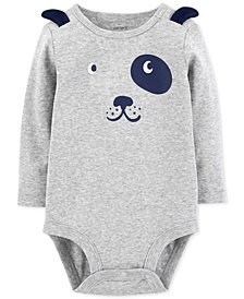 Carter's Baby Boys Dog-Print Cotton Bodysuit