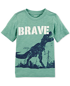 Carter's Toddler Boys Brave-Print Cotton T-Shirt
