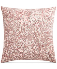CLOSEOUT! Paisley Cotton 300-Thread Count European Sham, Created for Macy's
