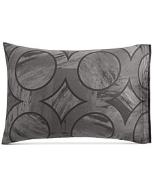 Hotel Collection Marble Geo Standard Sham, Created for Macy's