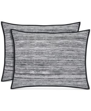 OscarOliver Flen Cotton Black Standard Sham Bedding 6681347