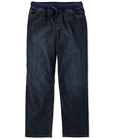 Carter's Little & Big Boys Pull-On Straight-Fit Cotton Jeans