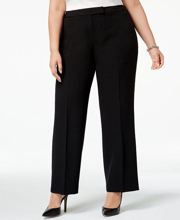 Kasper Plus Size Modern Dress Pants