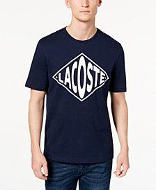 Lacoste Men's LIVE Logo T-Shirt