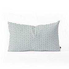 Deny Designs Caroline Okun Icicle Mini Oblong Throw Pillow