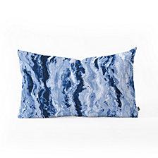 Deny Designs Lisa Argyropoulos Ocean Melt Oblong Throw Pillow