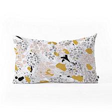 Deny Designs Marta Barragan Camarasa Abstract Shapes Of Textures Oblong Throw Pillow