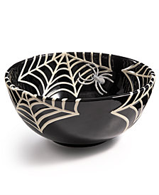 Martha Stewart Collection Spiderweb Treat Bowl, Created for Macy's
