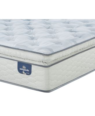 "Sertapedic 14"" Cassaway Plush Pillow Top Mattress- Twin"