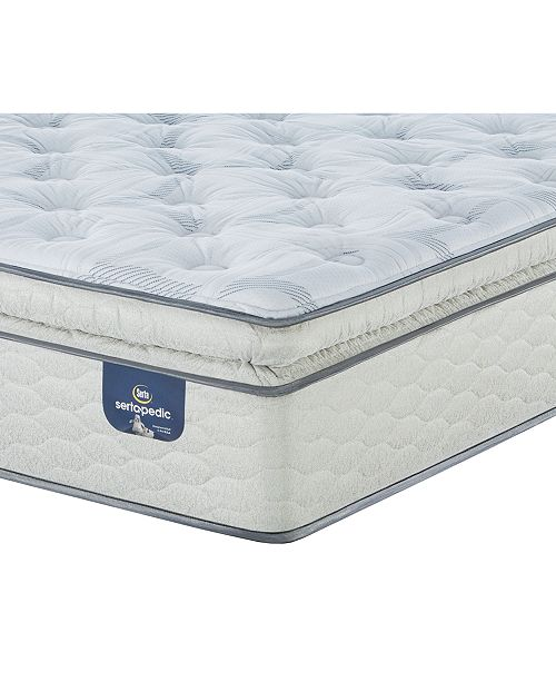 "Serta Sertapedic 14"" Cassaway Plush Pillow Top Mattress Collection"