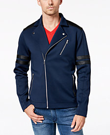 I.N.C. Men's Anatomy Biker Jacket, Created for Macy's