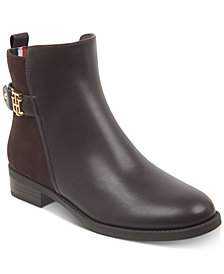 Tommy Hilfiger Women's Irsela Zip Booties, Created for Macy's