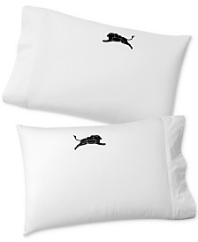 CLOSEOUT! Whim by Martha Stewart Collection Set of 2 Holiday Paired Pillowcases, Created for Macy's