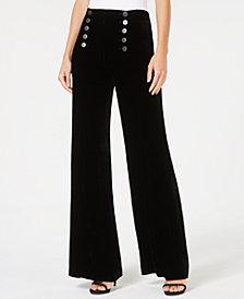 Nanette Lepore Wide-Leg Sailor Pants, Created for Macy's