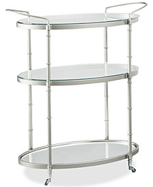 Maci Bar Cart, Quick Ship