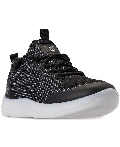 2fa23d65417ab ... Skechers Boys  S Lights  Energy Lights Street Light-Up Athletic Sneakers  from Finish ...