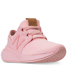 New Balance Little Girls' Fresh Foam Cruz V2 Running Sneakers from Finish Line