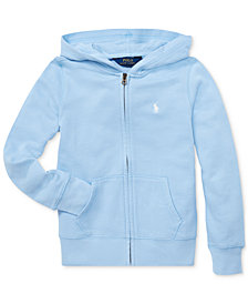 Polo Ralph Lauren Little Girls French Terry Hoodie