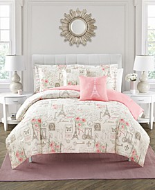 City of Romance Comforter Sets