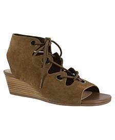 Ingrid Wedge Sandals