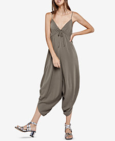 BCBGeneration Draped Harem Jumpsuit