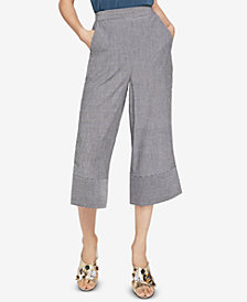 BCBGeneration Pinstripe Pull-On Cropped Pants
