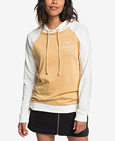 Roxy Juniors' True Harmony Colorblocked Graphic Hoodie