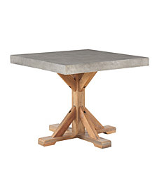 Maui Square Concrete End Table