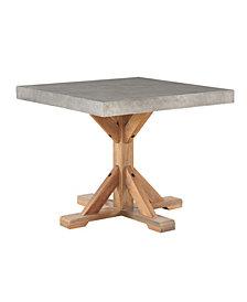 Maui Square Concrete End Table