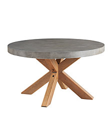 Maui Round Concrete Coffee Table