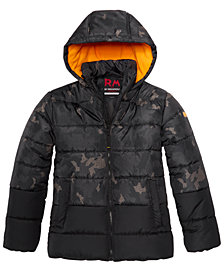 RM 1958 Big Boys Branson Camo-Print Hooded Jacket