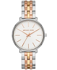 Women's Pyper Tri-Tone Stainless Steel Bracelet Watch 38mm