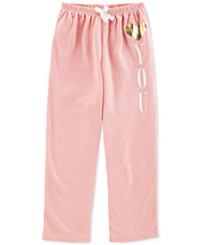 Carter's Big Girls Heart You Pajama Pants